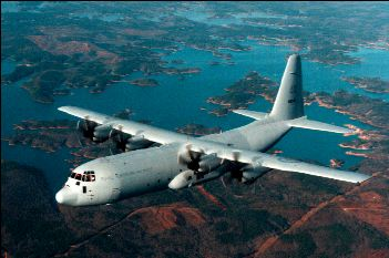 C-130J Flying high