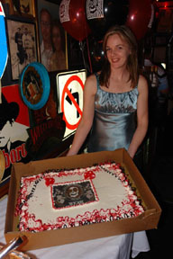 Vortex 15th cake and manager
